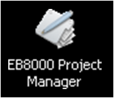 icone EB8000 Project Manager